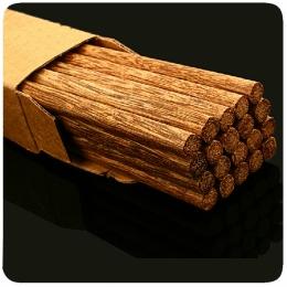Dřevěné přírodní jídelní hůlky