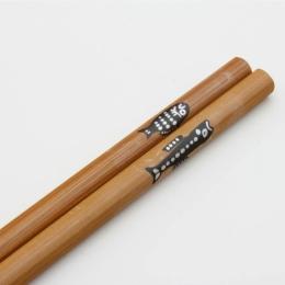 Japonské dřevěné lakované jídelní hůlky