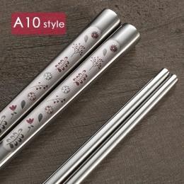 Korejské laserované hůlky s květinami