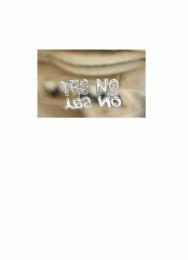 Náušnice s textem Yes/No